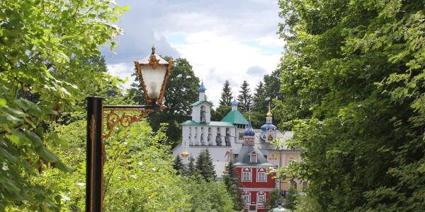 Работа: Псково-печерский монастырь