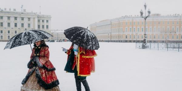 Работа: Аристократия зимой