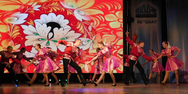 Работа: Русский народный танец