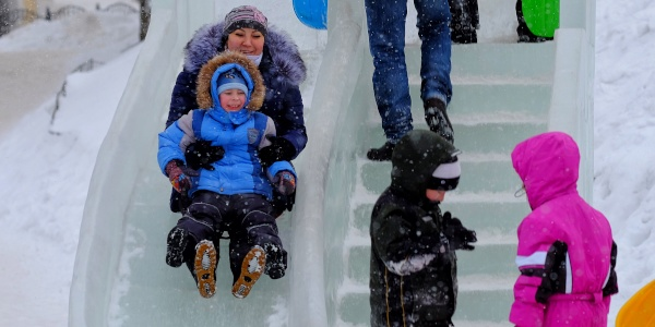 Работа: Традиционные зимние забавы