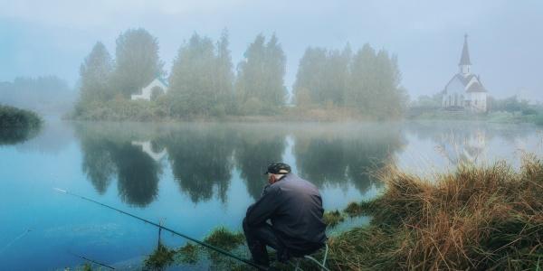 Работа: Утренняя рыбалка