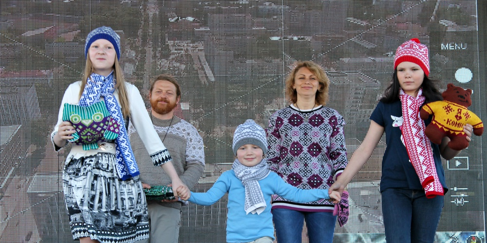 Работа: Вязание: Краски северного сияния и магия орнаментов народов Севера России
