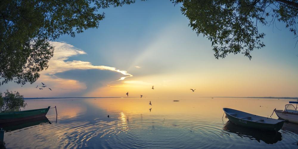 Работа: Вечер на Плещеевом озере