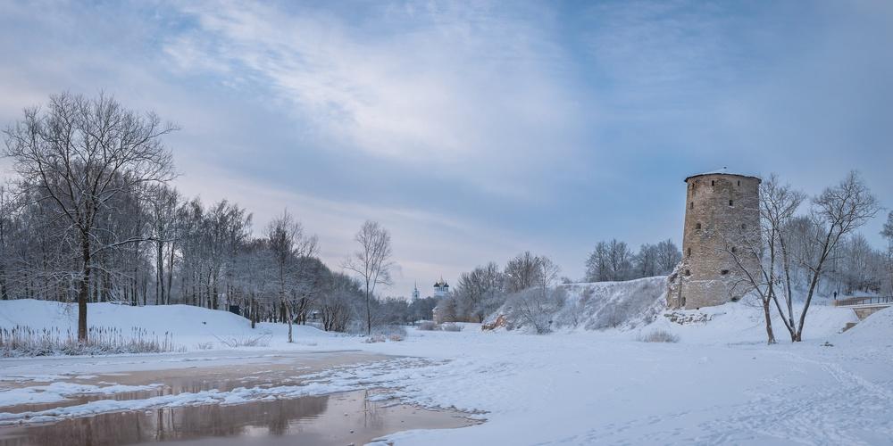 Работа: Псковская зима