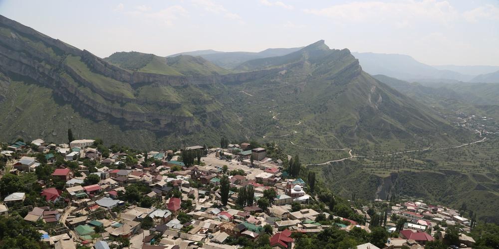 Работа: Дагестанское селение