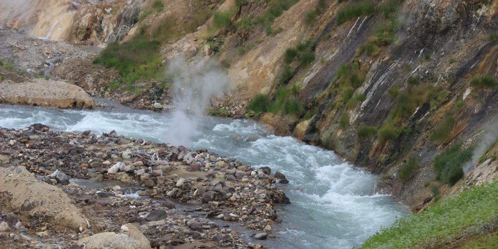 Работа: река Гейзерка