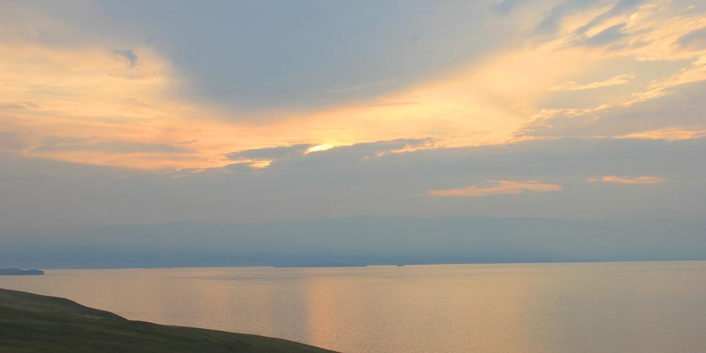 Работа: Закат на Байкале