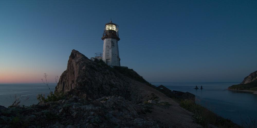 Работа: Старый маяк на мысе Бриннера