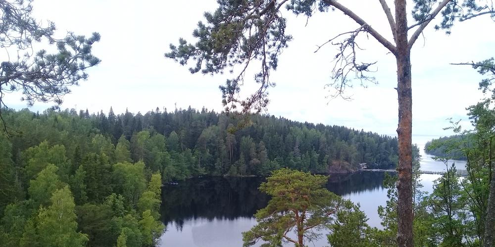 Работа: Остров, скалы, тишина