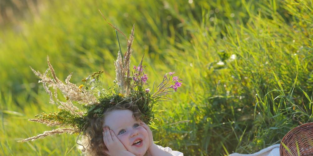 Работа: Растут цветочки на лугу, а я венок  из них сплету...