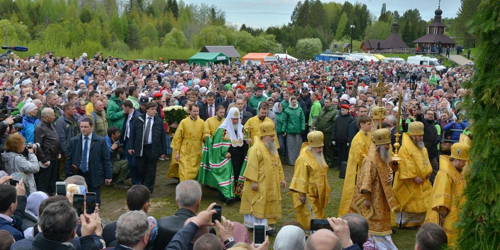 Работа: Патриарх Кирилл - желанный участник Великорецкого хода