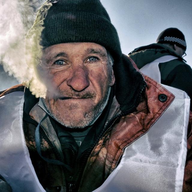 Работа : Портрет сибирского рыбака