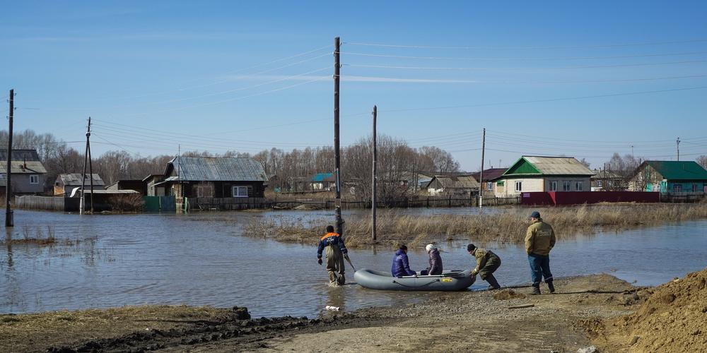 Работа: Наводнение