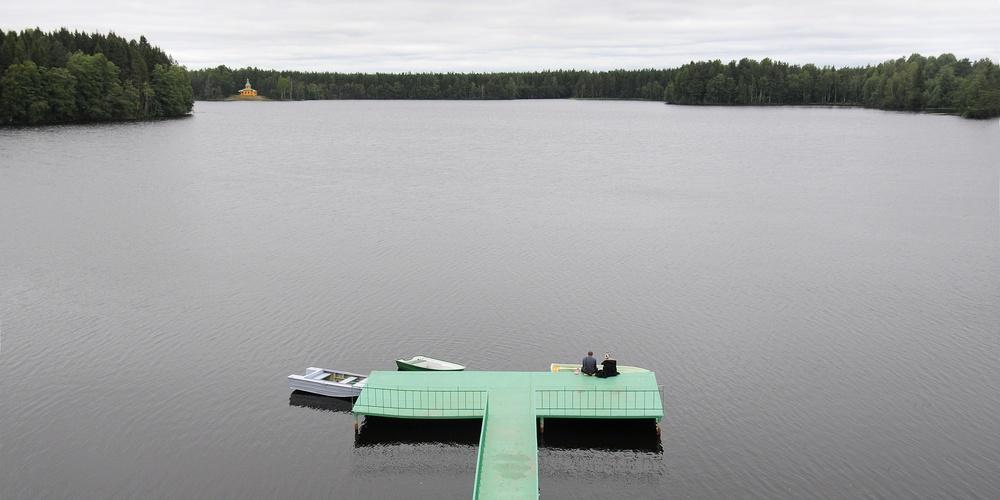 Работа: Рощинское озеро