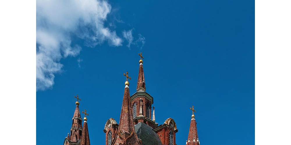 Работа: Церковь с. Вешаловка