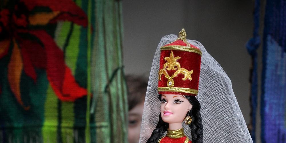 """Работа: Кукла """"Черкешенка"""""""