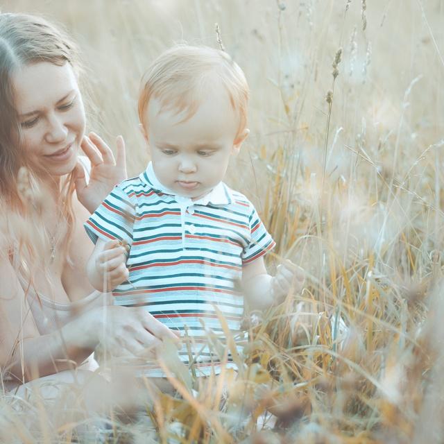 Работа : Любовь и нежность материнства