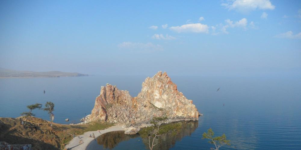 Работа: Утро на Байкале.
