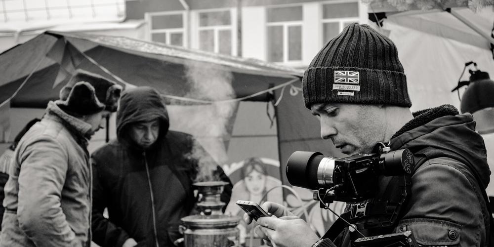 Работа: «Неспешная» работа фотографа»