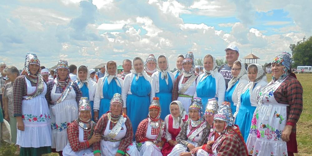 Работа: Чувашская диаспора на национальном празднике АКАТУЙ