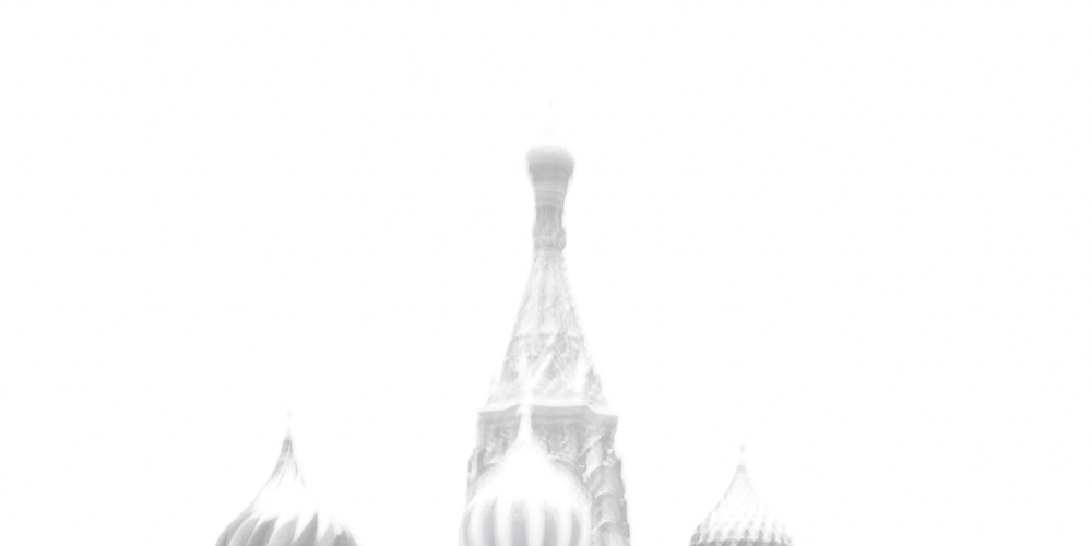 Работа: Plaza Roja en Blanco y negro