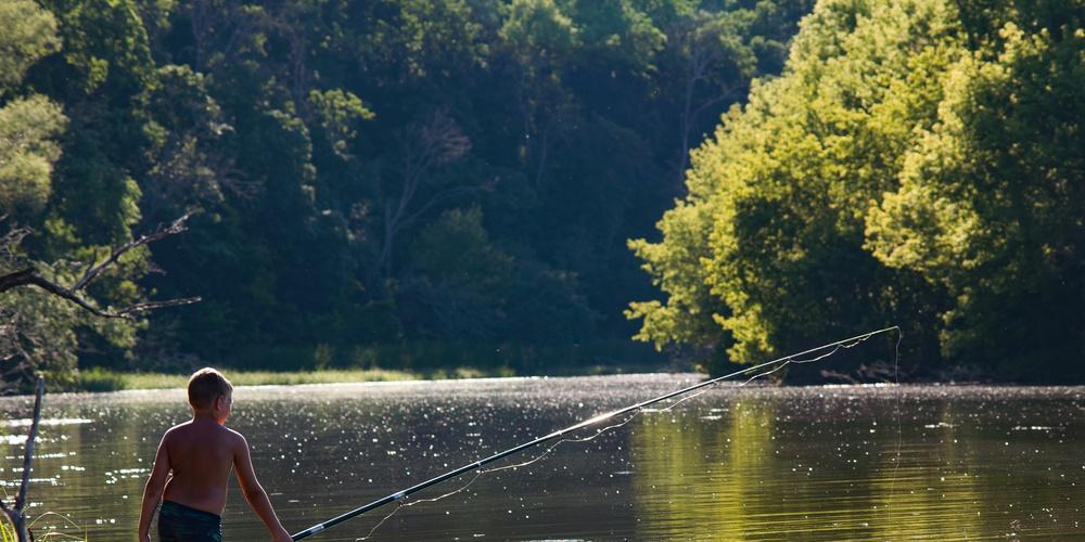 Работа: На рыбалке
