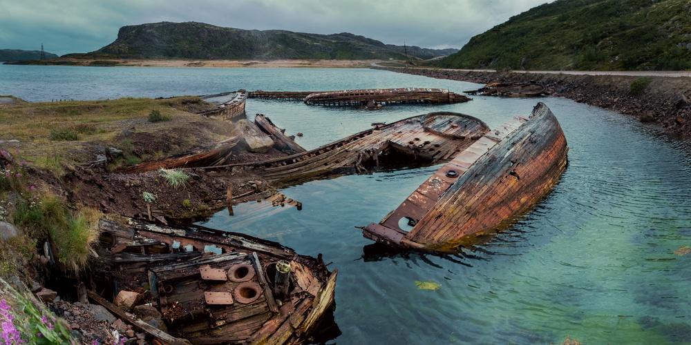 Работа: Кладбище кораблей в Териберке