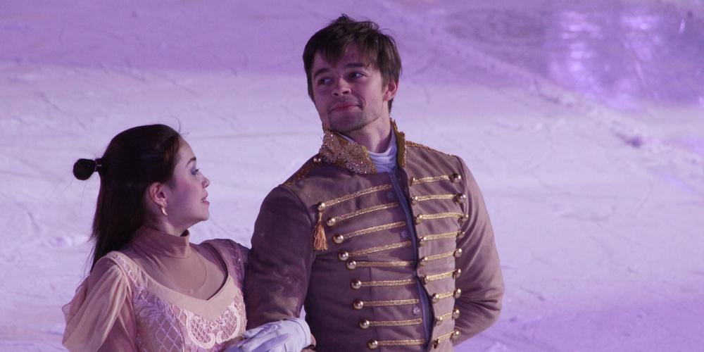 Работа: Ледовое шоу. Золушка с принцем