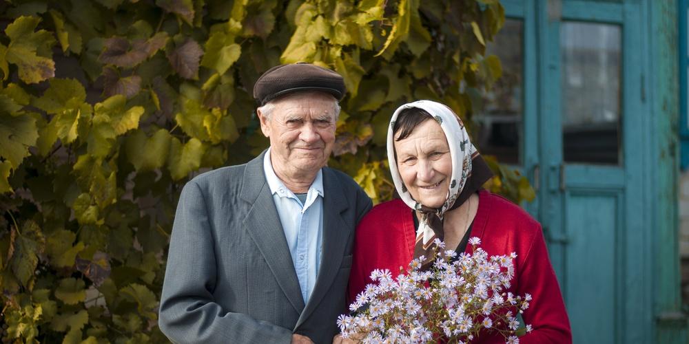 Работа: Пожилые жители провинциального городка на юге России