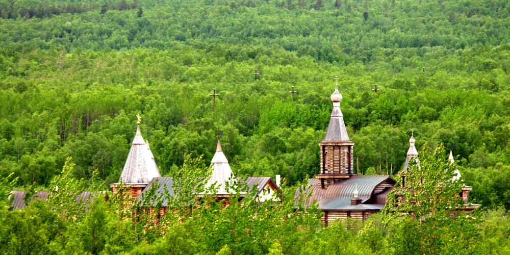 Работа: Трифонов Печенгский монастырь.