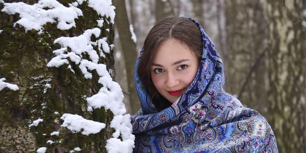 Работа: Русская красавица