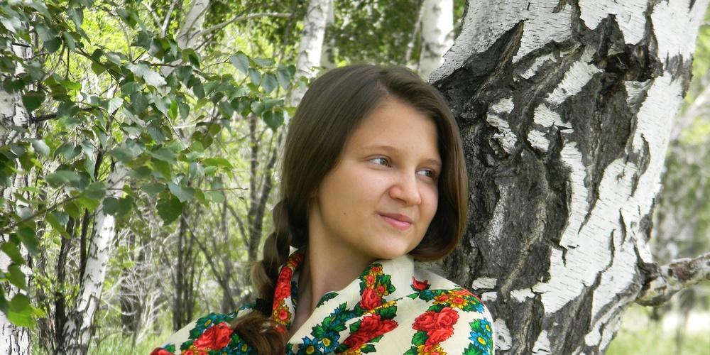 Работа: Русская красавица.