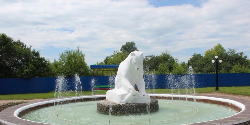 Работа: Медведь с рыбой