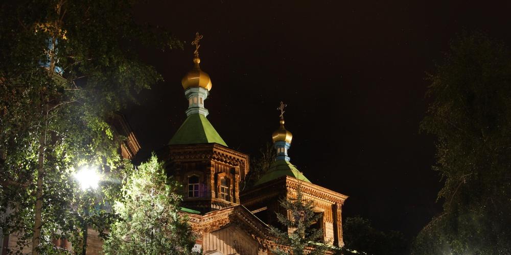 Работа: Храм в ночи