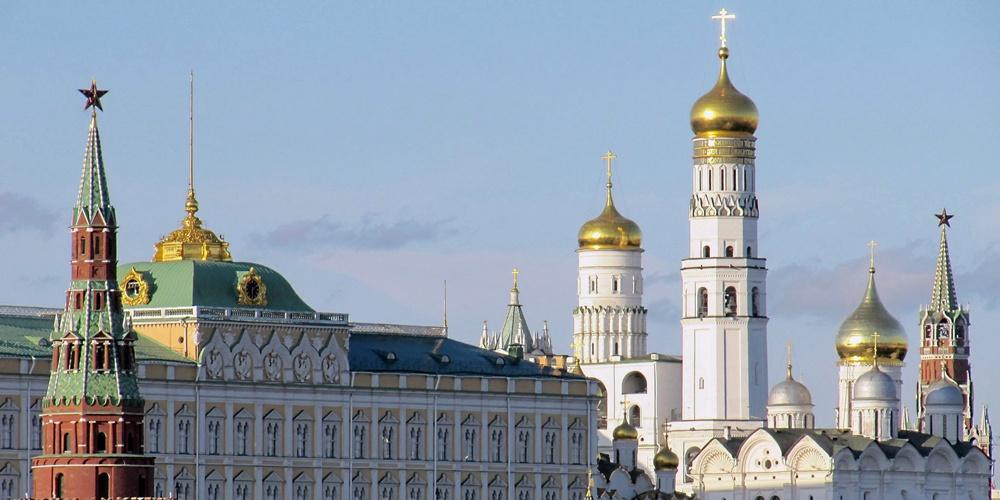 Работа: «Вид с Патриаршего моста на Кремль»