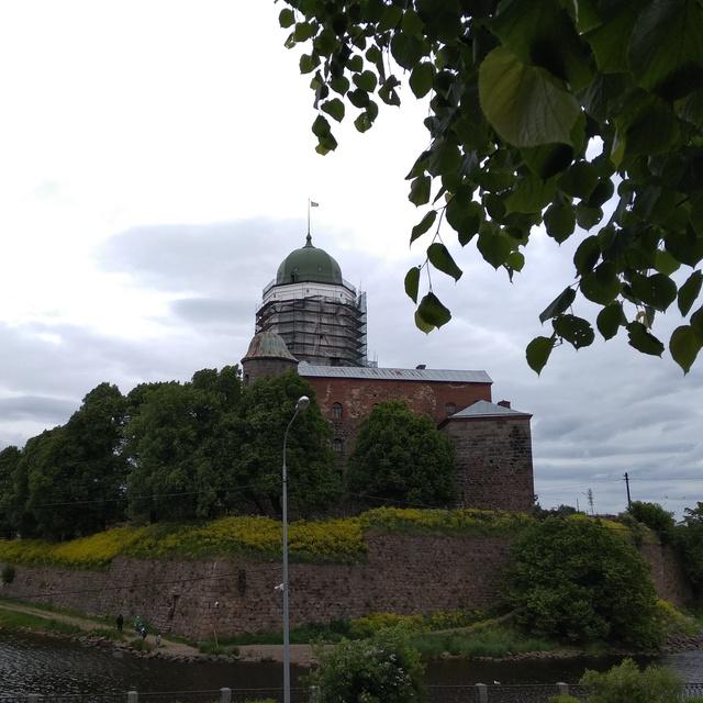 Работа : Рыцарский замок Выборга