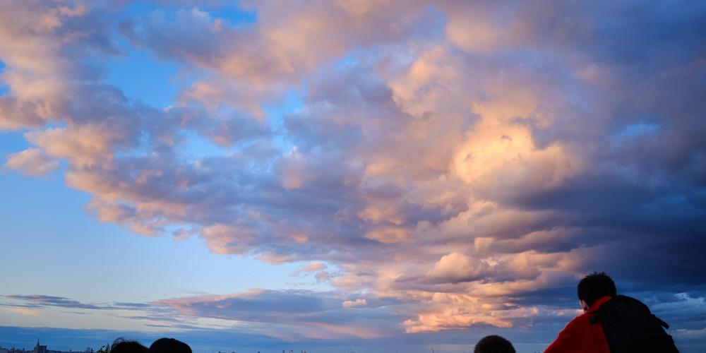 Работа: Закат на Воробьевых Горах