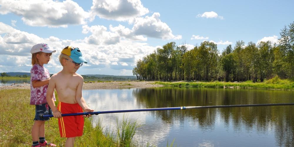 Работа: Традиция рыбной ловли передаётся по наследству!