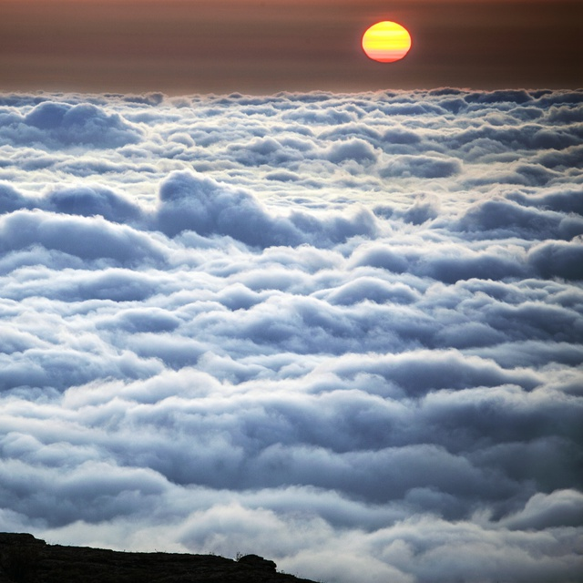 Работа : Среди облаков