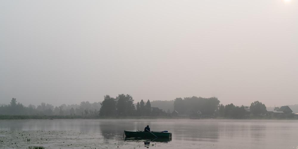 Работа: Рыбак на озере Уткуль