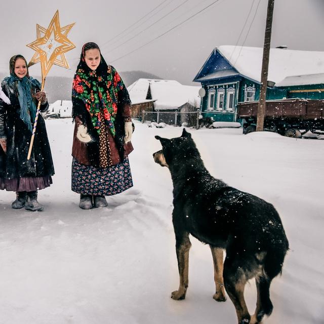 """Работа : Фестиваля зимних народных традиций """"Таусень"""""""