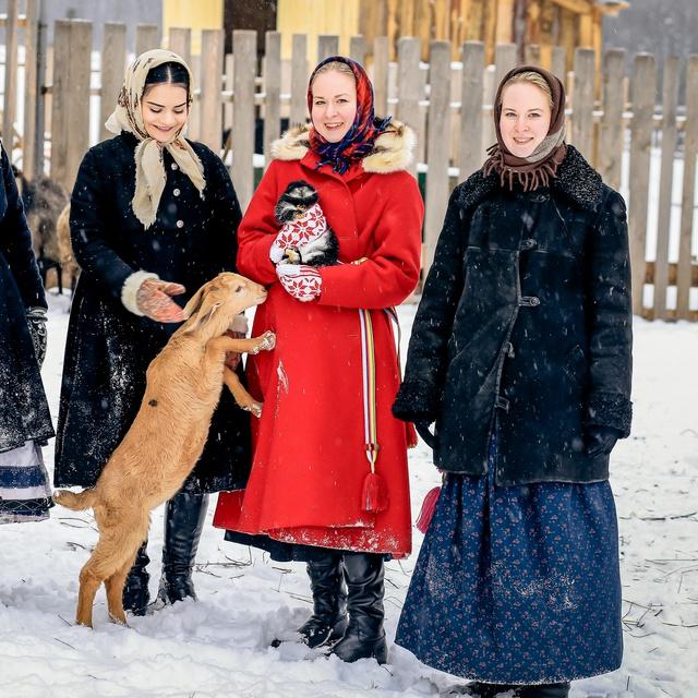 """Работа : Фестиваль зимних традиций """"Таусень"""""""