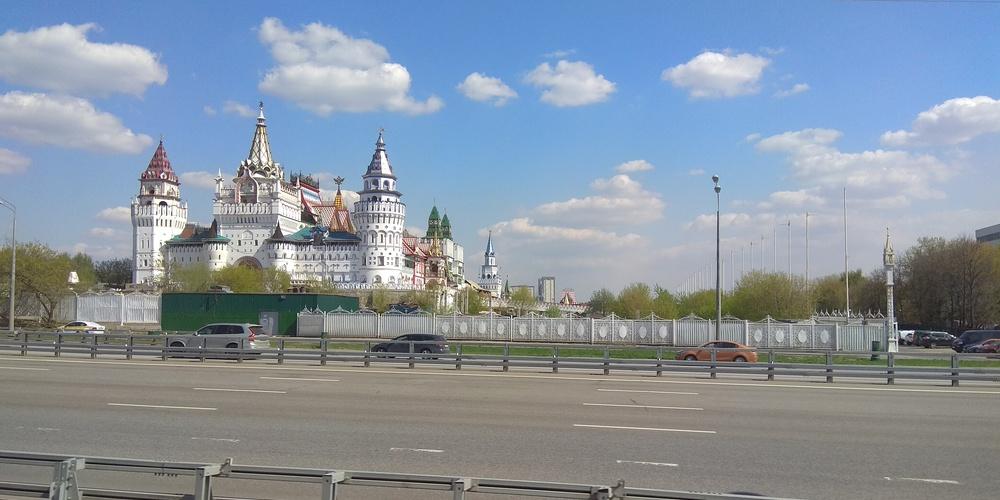 Работа: Москва сказочная