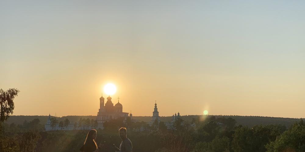 Работа: Новоиерусалимский монастырь в Истре