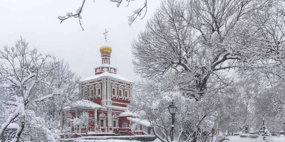 Работа: Ново-Девичий монастырь