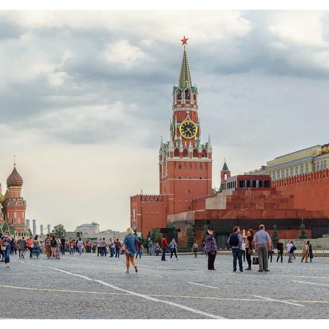 Работа : Красная площадь